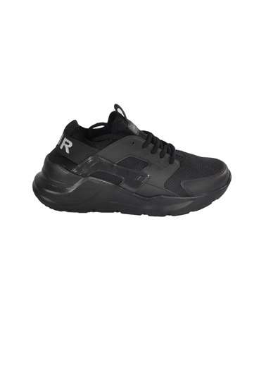 Bestof 048 Siyah-Siyah Unisex Spor Ayakkabı Siyah